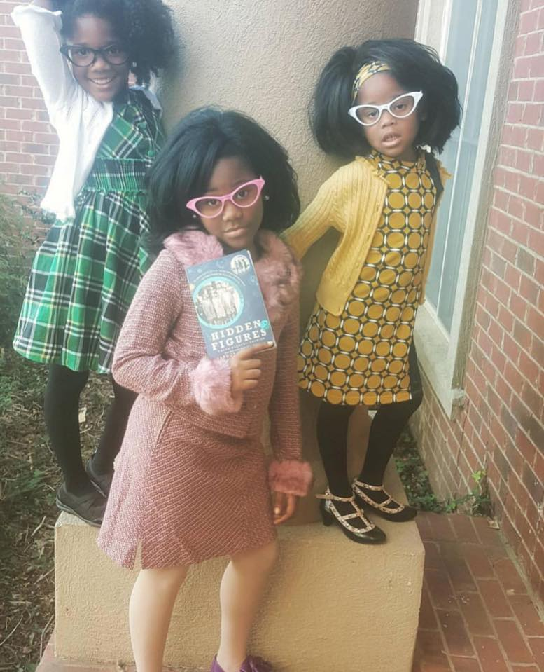 Hidden Figures Halloween Girls