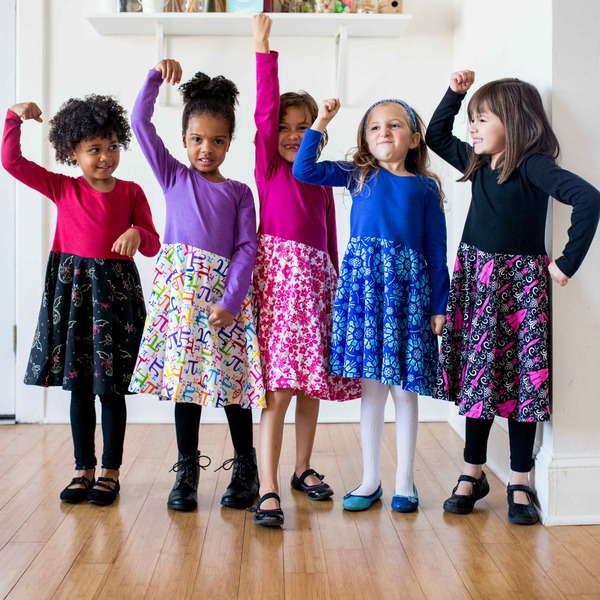 Girls STEM clothing from Princess Awesome