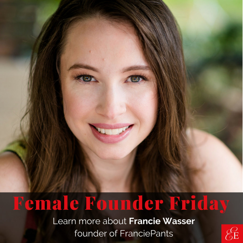 Female Founder Friday | Francie Wasser