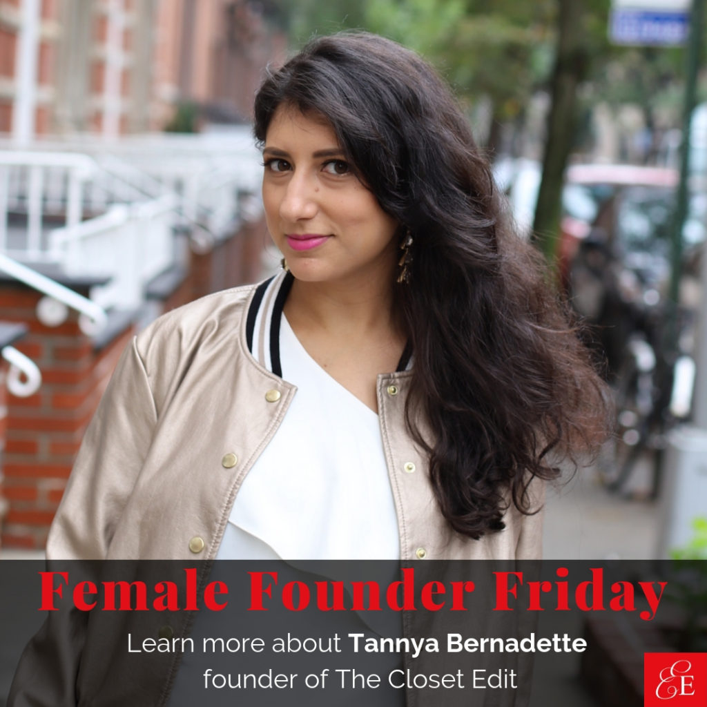 Female Founder Friday | Tannya Bernadette