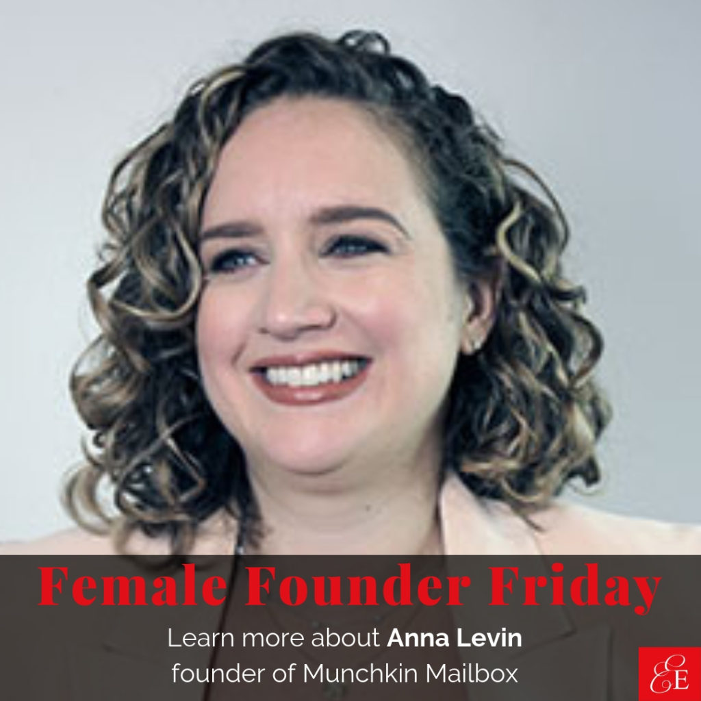 Female Founder Friday | Anna Levin