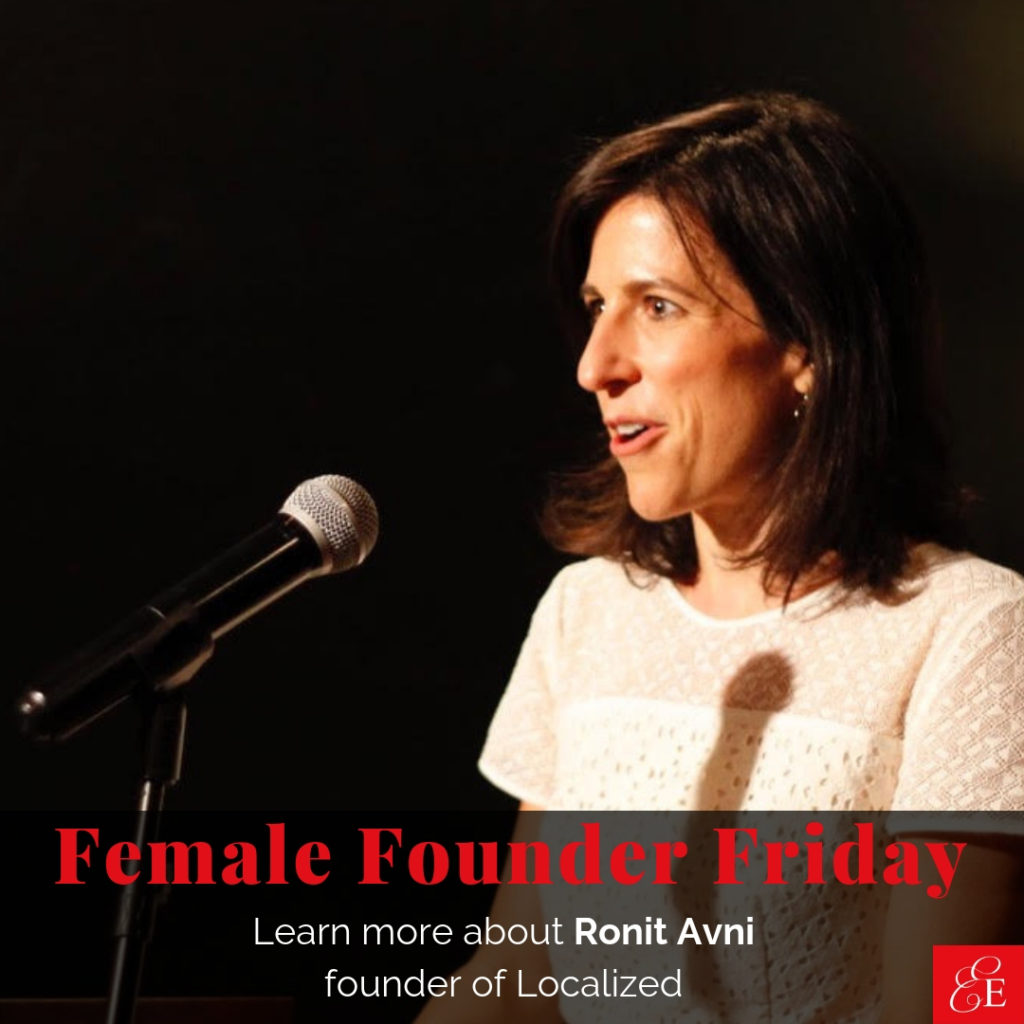 Female Founder Friday | Ronit Avni