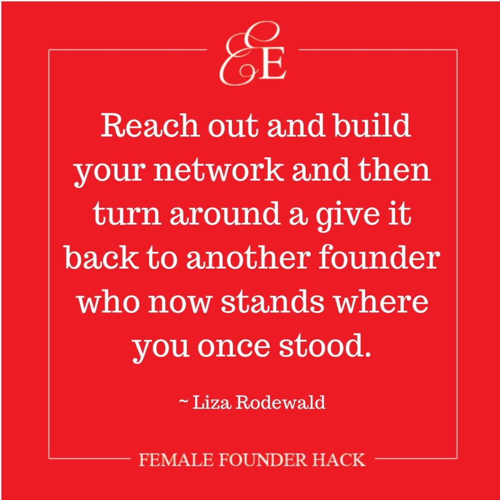 Female Founder Business Hack from Liza Rodewald